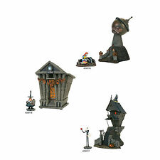 St/6 Dept 56 Nightmare Before Christmas Village Jack House~Town Hall~Observatory