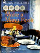 Make a menu book: New -every-day dishes; over a million different meals to choos