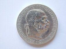Austria-Hungary 5 Cronen-1900 year/Habsburg Monarchy Franz Joseph I/silver