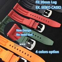 22mm Lug RUBBER BAND for More Brand Diving Watch