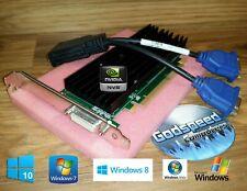 HP Media Center a1410n m7757c m7680n Dual Monitor VGA Video Card
