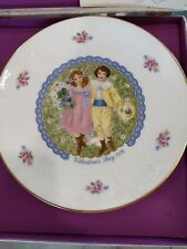 "Vintage Royal Doulton 1976 My Valentine Bone China Collector'S 8.25"" Plates"