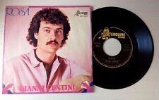 """GIANNI CENTINI / ROSA - UN AMORE - 7"""" (Italy 1980) RARE !!!"""