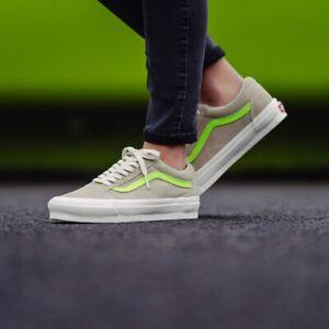 Vans Old Skool OG Vault LX  Suede Skate Shoes 12 Eucalyptus/Green Gecko