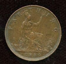 1884 Great Britain Farthing