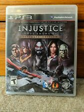 Injustice: Gods Among Us -- Ultimate Edition (Sony PlayStation 3, 2013) PS3