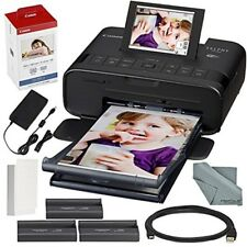 Canon SELPHY CP1300 Impresora fotográfica compacta (negro) Paquete de accesori