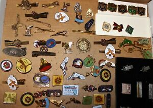 Large Vintage Lot Pins / Pinbacks, over 150 diverse pieces