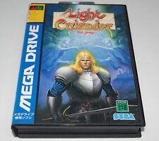 Light Crusader by Treasure for Japanese MegaDrive JPN Japan * Good Condition *