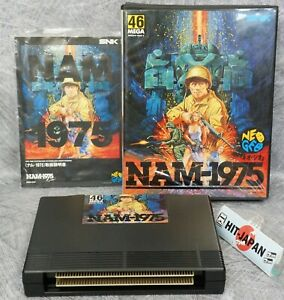 NAM 1975 NEO GEO AES FREE SHIPPING SNK Ref 0209