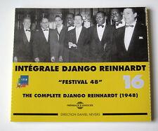 DJANGO REINHARDT - INTEGRALE N° 16 - ( 1948 )  - 2 CD