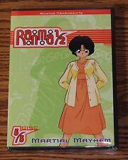 Ranma 1/2: Martial Mayhem Season 5 Disc 5 (DVD, 2003) Eps. 21-24 DVD BRAND NEW
