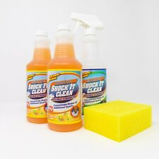 Professor Amos' Shock It Clean 2 Pack Citrus 2- 32oz. Concentrates, 1 Empty