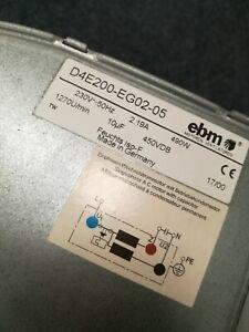 Reconditioned EBM D4E200-EG02-05 Fan - Sontegra Sunbed Main Base Fan 230v 490w