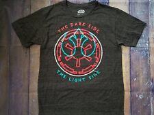 NEW NWT - Star Wars Mens Dark Side - Light Side Two Sides Gray medium Retro