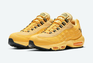 Nike Air Max 95 NYC Taxi Size 10-12 University Gold Black DH0143 700