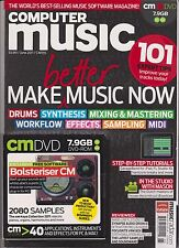 COMPUTER MUSIC MAKE MUSIC NOW MAGAZINE + FREE DISC #165 JUNE 2011.