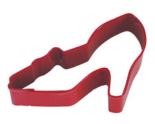 NEW RED HIGH HEEL SHOE SHAPED COOKIE BISCUIT PASTRY CUTTER FASHION PUMP AH
