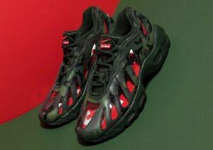 Supreme Nike Air Max 96 Woodland Camo Size 9.5 *ORDER CONFIRMED* CV7652-300