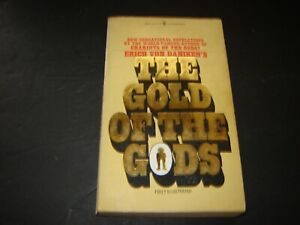 Vintage The Gold of the Gods Erich Von Daniken UFO Ancient Aliens 1974