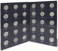 Lighthouse Olympic 50p Collectors Coin Album for 29 Coins & Completer Medallion