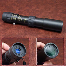 Portable Mini 10-30x25 High Power Zoom Optical Monocular Telescope Lens Black