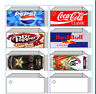 VENDING LABEL DVD - Flavor Strips - Print your own labels as you need them!