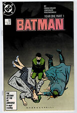 BATMAN #404 9.2 YEAR ONE FRANK MILLER WHITE PAGES COPPER AGE