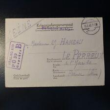 LETTERA PRIGIONIERO DA GUERRA STALAG II-D 15.06.42 KRIEGSGEFANGENENPOST POW