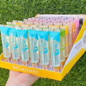 BRAND NEW Broadway Vita-Lip Gloss VARIETY ALL Flavors - 48PC BOX WHOLESALE LOT
