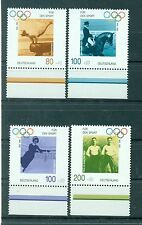 Allemagne -Germany 1996 - Michel n. 1861/64 - Aide sportive **