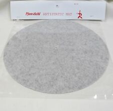 NEW ANTISTATIC MAT FOR  TURNTABLES--FITS GARRARD, DUAL, BIC, ALMOST ALL UNITS