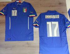 FW14 PUMA M HOME ITALIA 17 IMMOBILE MAGLIA MAGLIETTA MONDIALI SHIRT JERSEY