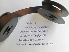 Sears Graduate Old Style Purple Ink Typewriter Ribbon + Free Shipping