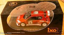 PEUGEOT 206 WRC WINNER RALLY NEW ZEALAND 2003 IXO 1/43