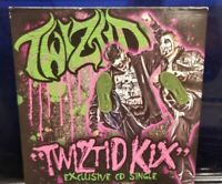 Twiztid - Kix CD Single insane clown posse  blaze ya dead homie majik ninja ent