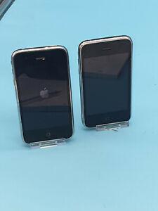 Apple iPhone 3GS - 32GB & 8GB - Black  A1303 (GSM) X2  VINTAGE TECH SL1