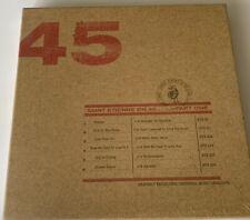 Rare Saint Etienne On 45 Part One  6 Vinyl Box Set New Sealed