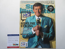 CRAIG SAGER SIGNED SPORTS ILLUSTRATED MAGAZINE PSA/DNA COA AB78761 STRONG TNT