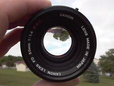 Canon FD 50mm F:1.4 S.S.C. f/  Sony Nikon Canon Pentax Fujifilm Leica Tested 9+