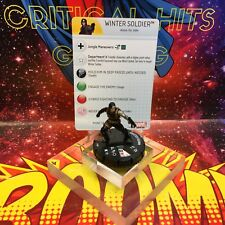 Marvel Heroclix WINTER SOLDIER #100 Nick Fury: Agent of Shield NM Super Rare!