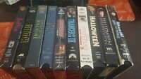 Horror vhs lot RARE Screening Copies OOP HTF Some Sealed