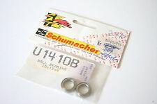 Schumacher rodamientos de bolas (par) De 10 X 15 X 4 Mm-u1410b u1410