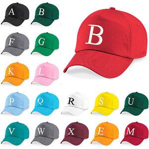 Baseball Cap Kids Letter Hat Girls Boys Childrens Kids Summer Bringt Red