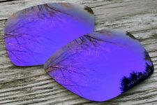 Polarized Dark Purple Mirrored Sunglass Lenses for Oakley Dispatch 1 Grey Tint