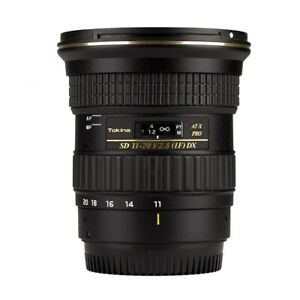 Tokina AT-X 11-20mm f/2.8 PRO DX Lens For Canon EF Multi-Layer Lens Coatings NEW