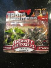 Transformers ROTF Robot Heroes Autobot Springer & Starscream Factory Sealed Dent
