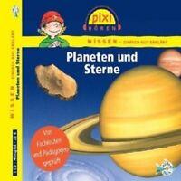 PIXI WISSEN - PLANETEN UND STERNE  CD NEU