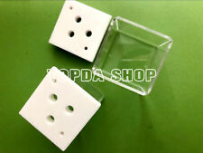 1PCS 40*40*40mm optical quartz cell transmission rate of 93% or more