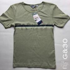 "Girls Green Levi's Levis San Francisco T Shirt Size M P-P 14"" Length 22"""